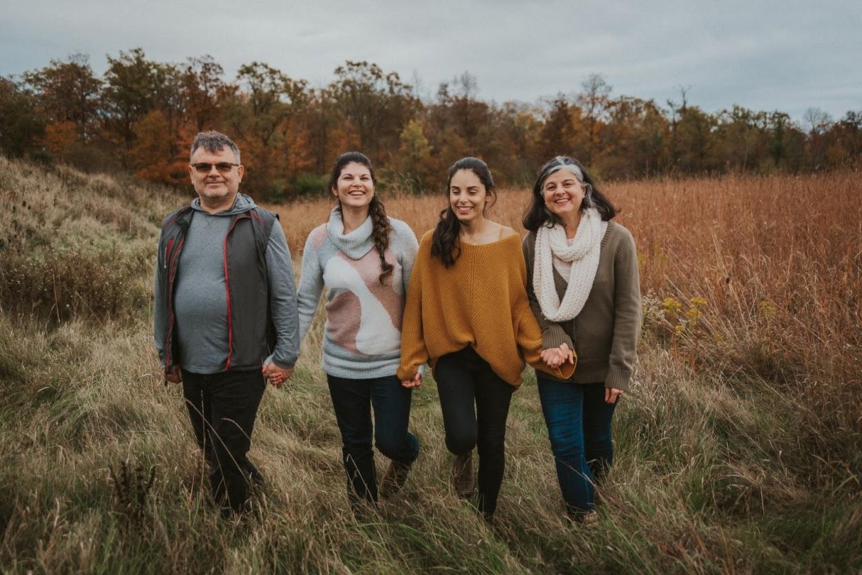 My Family - (L to R; Alex, Melina, Christina (Effie), Yula)